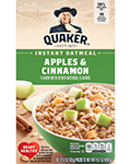 Quaker® Instant Oatmeal - Apples & Cinnamon
