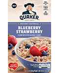 Quaker® Instant Oatmeal - Blueberry Strawberry
