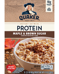 Quaker® Protein Instant Oatmeal - Maple and Brown Sugar