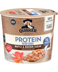 Quaker® Protein Instant Oatmeal Cup - Maple and Brown Sugar