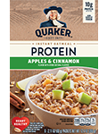 Quaker® Protein Instant Oatmeal - Apples & Cinnamon