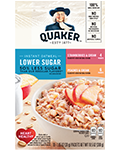 Quaker® Lower Sugar Instant Oatmeal - Fruit and Cream Variety Pack